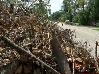 Debris cleanup a big challenge