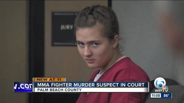 MMA fighter murder suspect in court