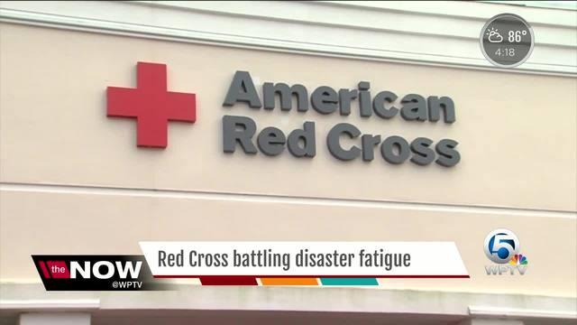 Red Cross battling disaster fatigue