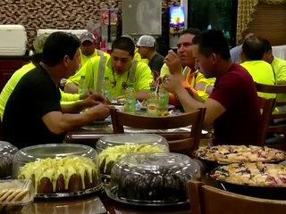 Fla. power crews rewarded with fried-gator feast