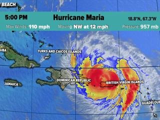 Maria destroys homes in Puerto Rico