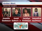 Fla. Amber Alert issued for 4 missing children