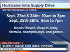 Boynton Beach collects items for Irma victims