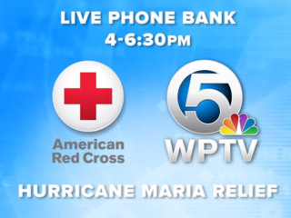 WPTV, Red Cross team up to help Maria victims