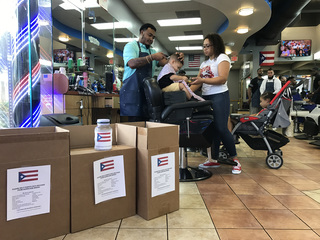 Local family collects donations for Puerto Rico