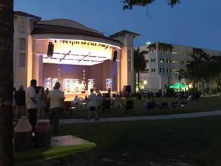 Delray thanks Irma workers with free concert