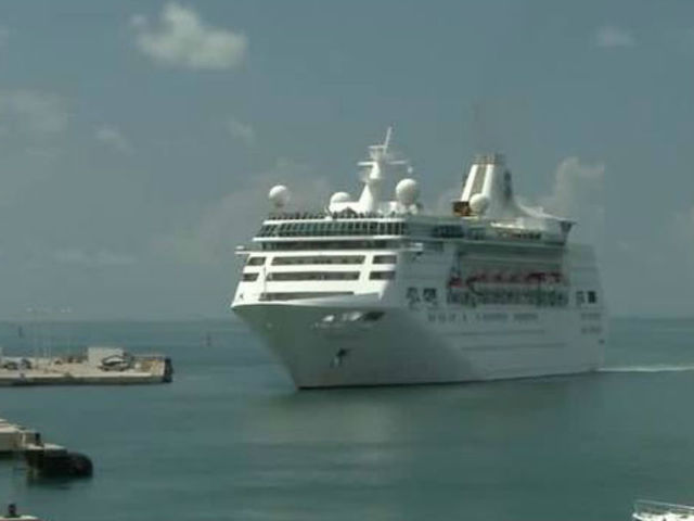 1st cruise ship since Irma docks in Key West