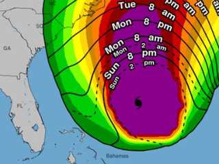 Maria prompts high surf advisory in Florida
