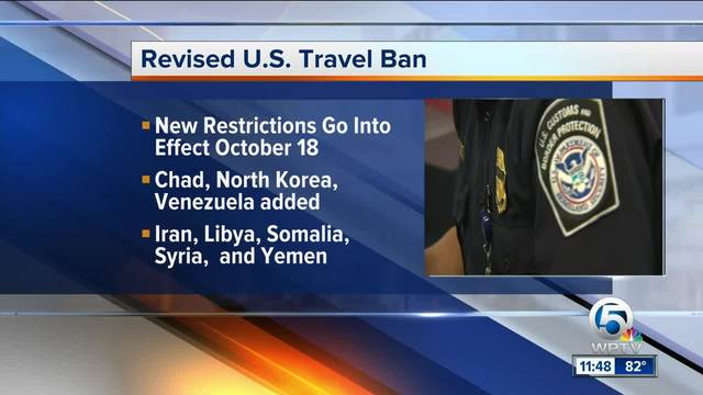 President Trump signs proclamation implementing travel restrictions on 8…