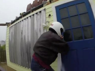 GoPro video shows daring rescue during hurricane