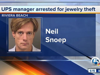 UPS manager charged with stealing, pawning items