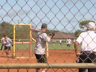 Softball game aids first responders' families