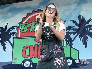 Rita Ora plays Brew and Chew Music Festival