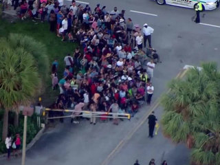 Hundreds line up for SNAP food assistance in PBC