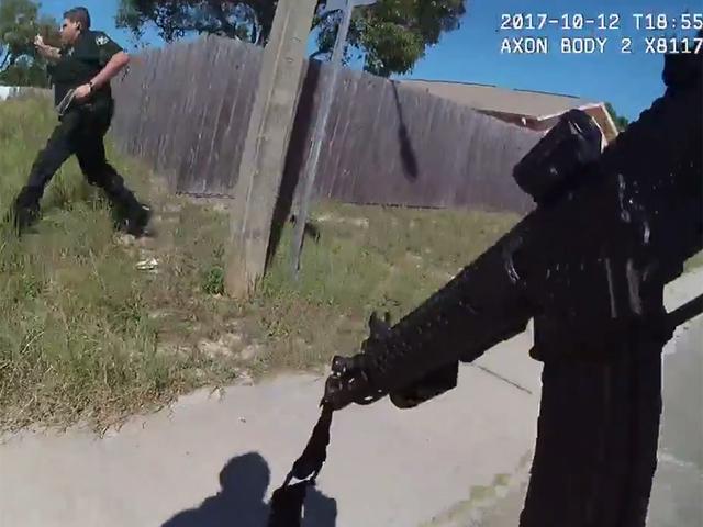 Caught on Camera: shootout between deputies and murder suspect