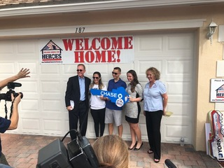 Local vet, cancer survivor gifted new home