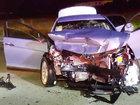 Rivera head-on crash injures multiple people