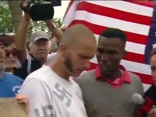 Protests greet white nationalist in Gainesville