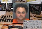 Explosives, guns, school maps found at Fla. home