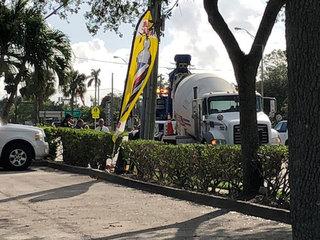Pedestrian killed in cement truck crash