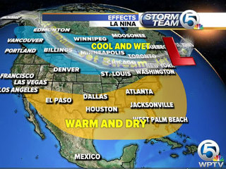 So. FL could see warm, drier winter than normal