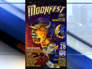 """Some find 'Trump"""" Moonfest poster offensive"""