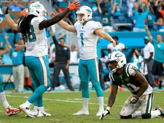 Dolphins comeback to beat Jets 31-28
