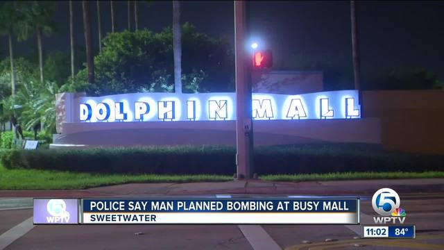 Miami man arrested in plot to bomb Dolphin Mall
