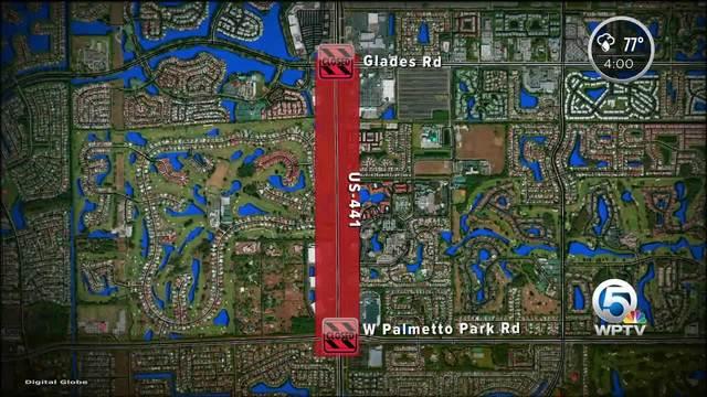 Gas Leak Stopped On  In Suburban Boca Wptvcom - Us 441 map