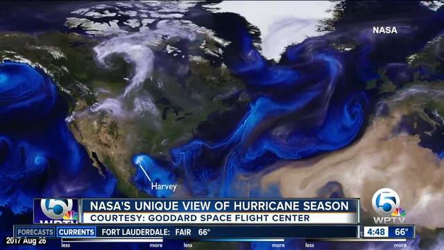 NASA offers unique view of hurricane season