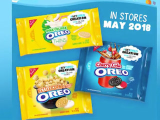 Oreo unveils three new flavors after contest