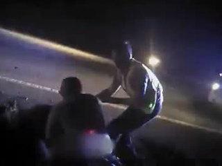 VIDEO: FL patient attacks paramedics along road