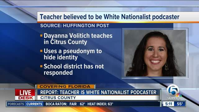 Florida Public School Teacher Allegedly Hosted a White Nationalist Podcast