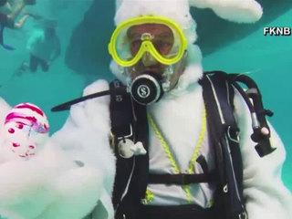Underwater Easter egg hunt held in Florida Keys