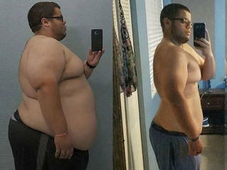 Florida man loses 225 pounds and counting