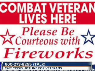 Use caution: fireworks can trigger PTSD for vets