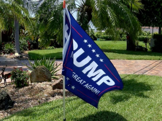 Florida man says Trump flag prompted attack