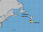 Subtropical Storm Debby forms in Atlantic