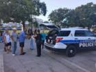 Stolen doughnut van found, cops share with poor