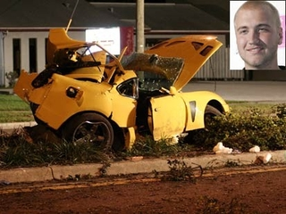 Hogan Son Car Crash
