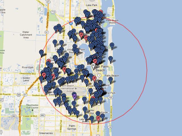 fl sex offenders map