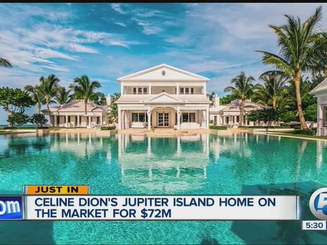 Celine Dion Jupiter Island Home For Sale For 72 5 Million