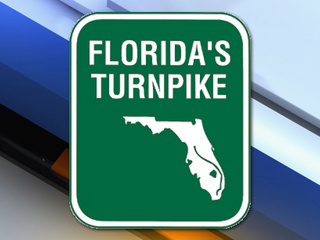 Rollover crash causes delays on Turnpike NB