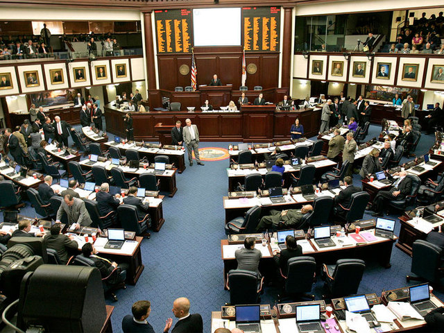 Florida Senate votes to arm teachers, rejects assault weapon ban
