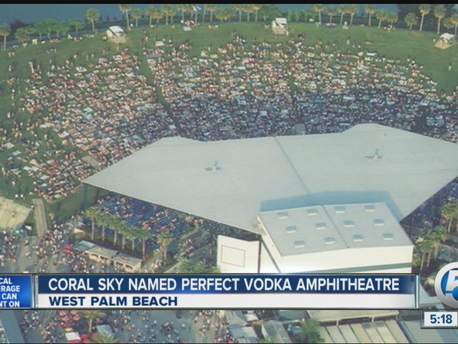 Perfect Vodka Amphitheatre Is Changing Its Name As The Venue Looks