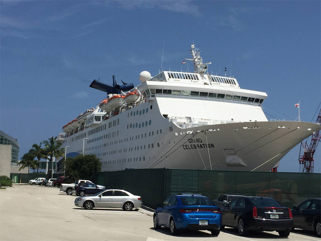Grand Celebration Cruise Ship Contracted By FEMA For Hurricane - Bahamas celebration cruise ship