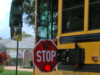 Palm Beach Co. school buses deployed early today