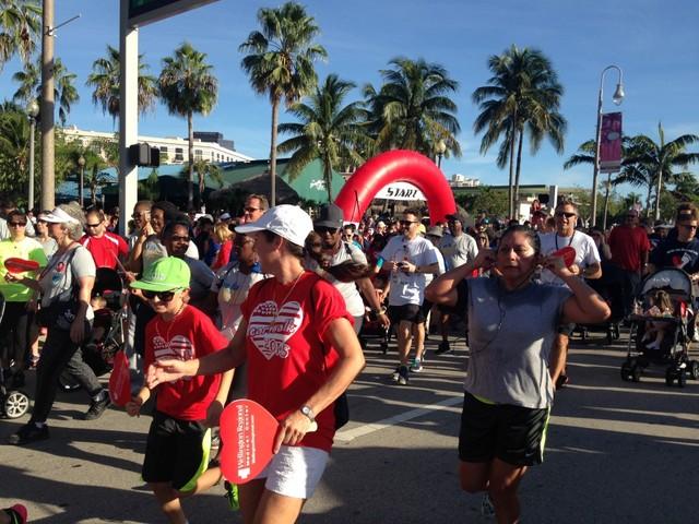 Palm Beach County Heart Walk