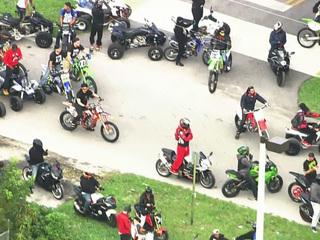 Bikers, ATV riders take over South Fla. highways