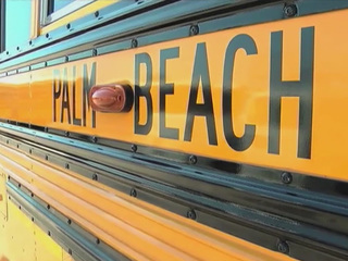 Map: School bus crashes in Palm Beach Co.